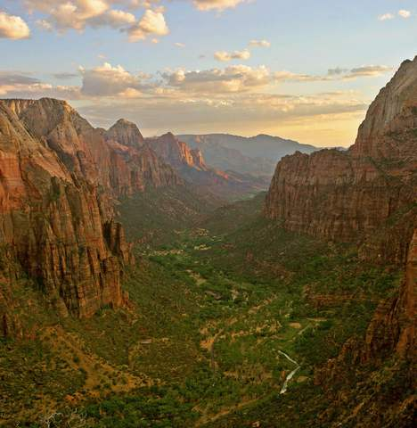 1 Zion angels landing view 10 Most Beautiful National Parks in USA