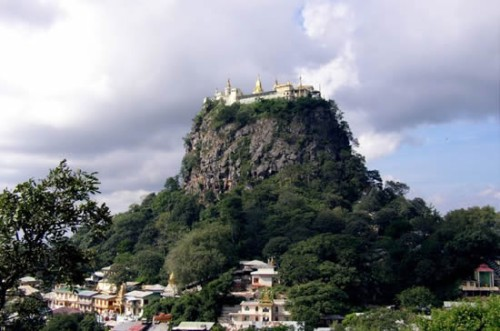 3 Taung Kalat Monastery  The Incredible Taung Kalat Monastery