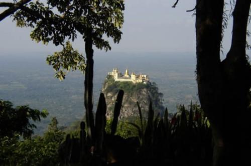 5 Taung Kalat Monastery  The Incredible Taung Kalat Monastery