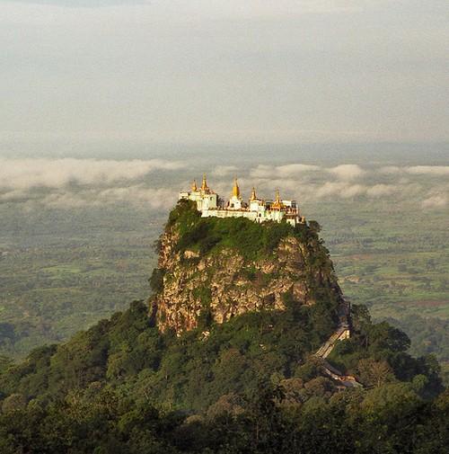 6 Taung Kalat Monastery  The Incredible Taung Kalat Monastery