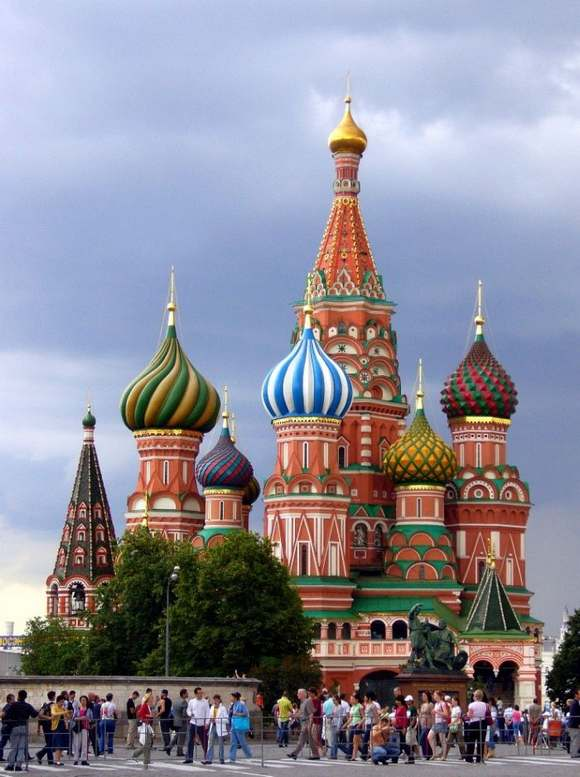 Saint Basils Cathedral The Best 7 Wonders of Russia