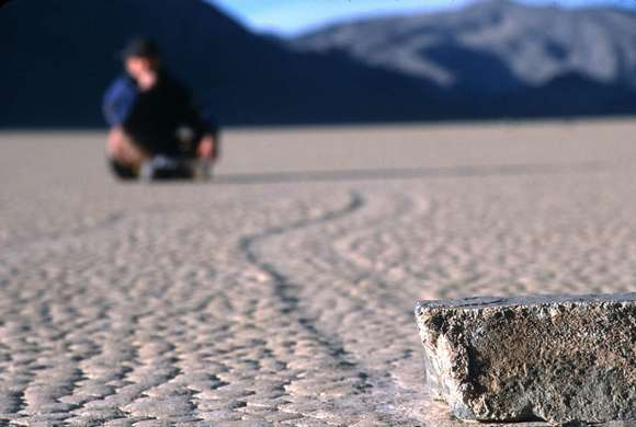 racetrack playa Earth Strangest Trips