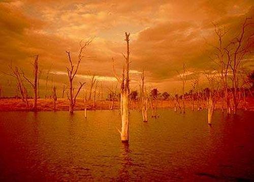 2 kariba sunset Lake Kariba Sunset