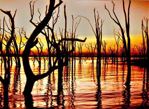 5 kariba sunset Lake Kariba Sunset