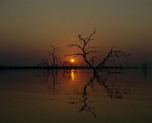 9 kariba sunset Lake Kariba Sunset