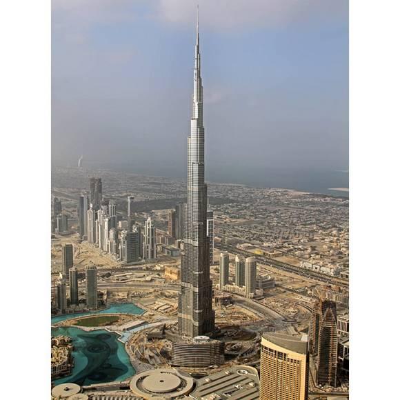 Burj Dubai tallest skyscraper 11 The Tallest Skyscraper In The World   Burj Dubai