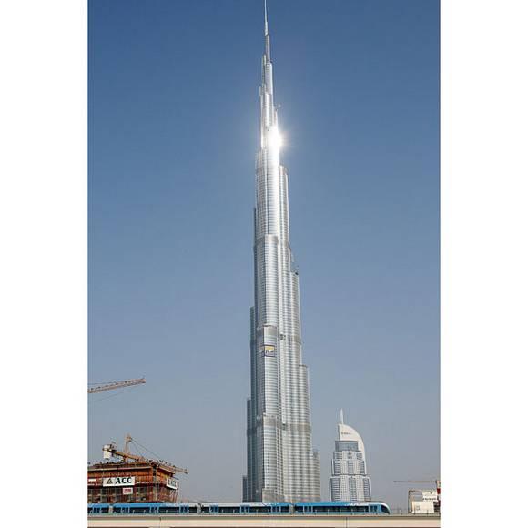 Burj Dubai tallest skyscraper 12 The Tallest Skyscraper In The World   Burj Dubai
