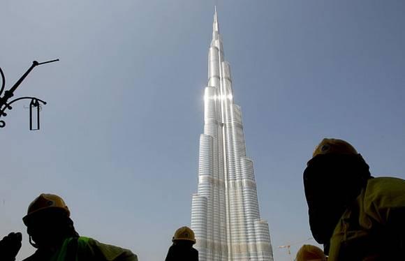 Burj Dubai tallest skyscraper 16 The Tallest Skyscraper In The World   Burj Dubai