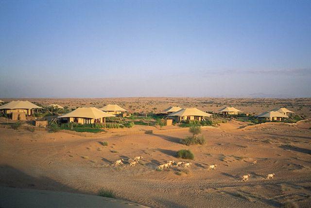 al maha resort landscape An Arabian Desert Experience