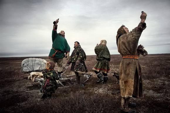 raindeers siberia 8 Sibir Reindeer Herdsmen