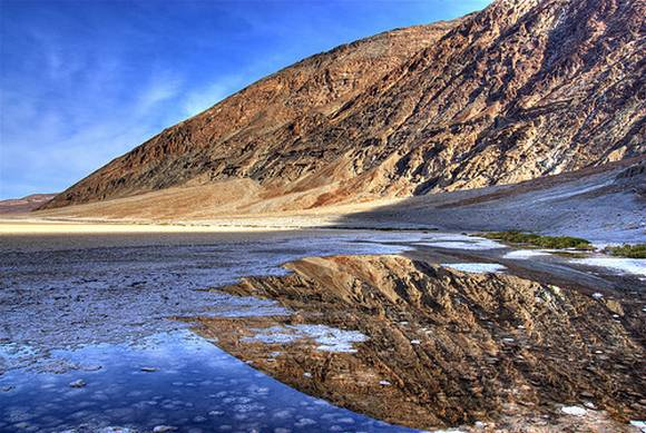 5 South America Laguna Carbón The Worlds Lowest Points by Continets