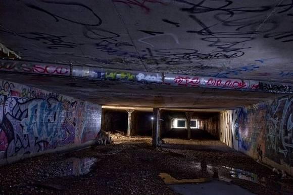 Las Vegas underground life 4 Life in Las Vegas Underground tunels