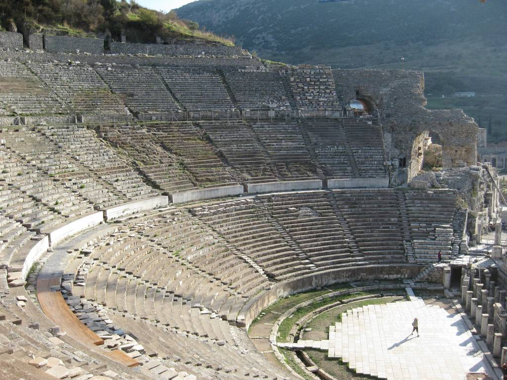 3 Ephesus Theater Ephesus The ancient city in Anatolia