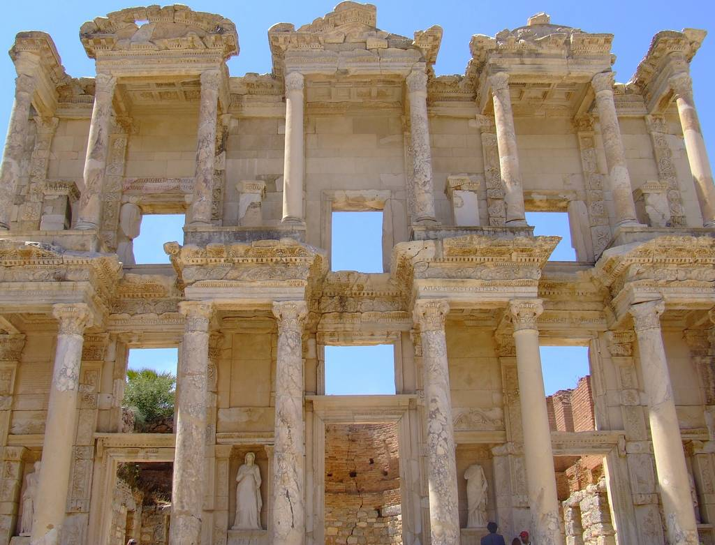 7 Celsus library 3 Ephesus The ancient city in Anatolia