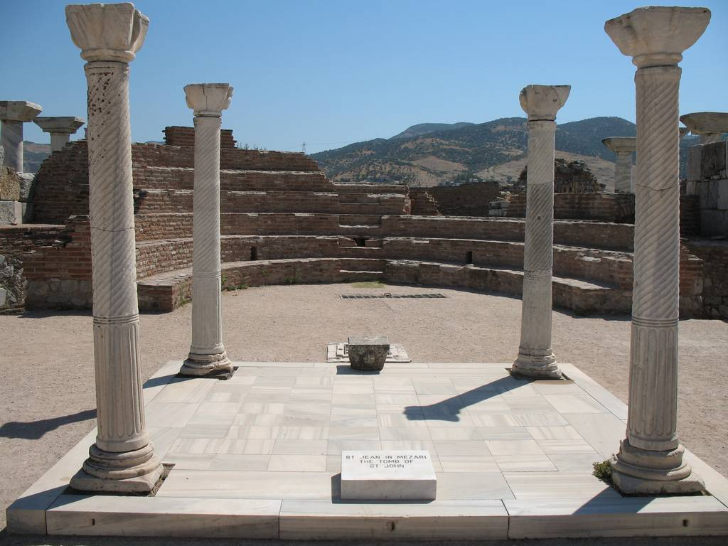 9 Tomb of Saint John the Apostle Ephesus The ancient city in Anatolia