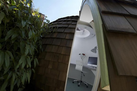 Archipod Mobile Office 4 Archipod Garden Office Pods