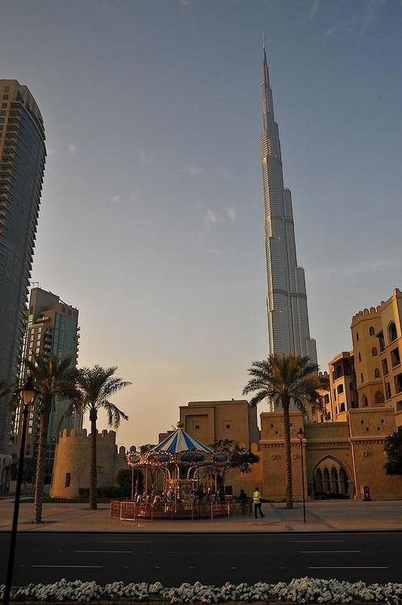 Burj Khalifa dubai skyline 13 Night View from Burj Khalifa
