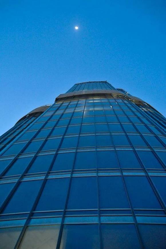Burj Khalifa dubai skyline 14 Night View from Burj Khalifa