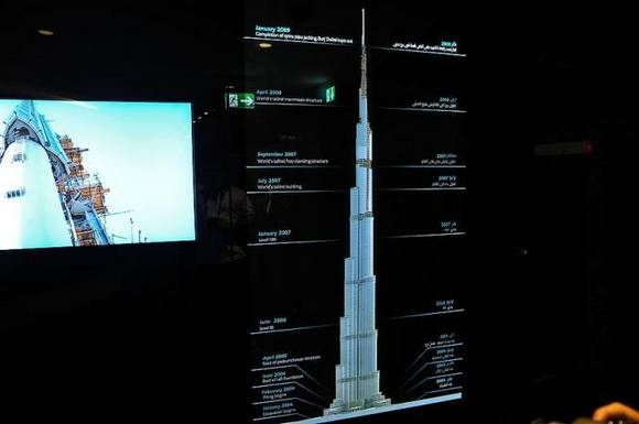 Burj Khalifa dubai skyline 16 Night View from Burj Khalifa