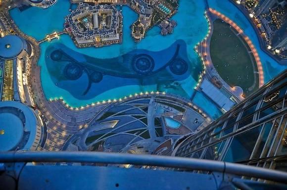 Burj Khalifa dubai skyline 18 Night View from Burj Khalifa
