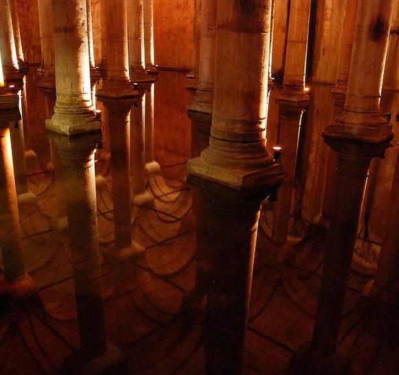 Istanbul Basilica Cistern 10 Basilica Cistern
